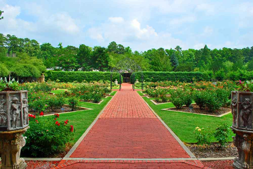 In The 1950s James W. Morgan, City Mayor At The Time, Led An Effort To  Establish The Gardens On A Portion Of Unused City Property East Of The  Birmingham Zoo ...